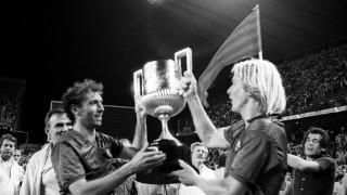 En 1980 fichó por el FC Barcelona, donde militó cuatro temporadas y conquistó 2 Copas del Rey, una Recopa, 1 Copa de la Liga y 1 Supercopa de España. Foto: EFE/cl