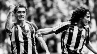 Estuvo cerca de colgar las botas en 1984, pero regresó a su querido Real Sporting para jugar las tres últimas temporadas de su carrera. Foto: EFE/J. L. Cerejido/rsa