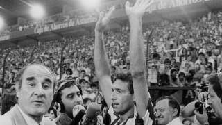 'El Brujo' disputó 448 partidos en la máxima categoría del fútbol español. Foto: EFE/J.L.Cereijido/voo