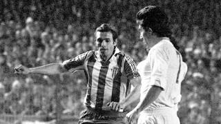En su primera etapa en el conjunto asturiano (1968-1980) logró dos ascensos y fue máximo goleador de LaLiga en tres temporadas. Foto: EFE