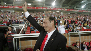 ¡Hasta siempre, Quini! ¡Gracias por tu fútbol! Foto: EFE/J.L.Cereijido.