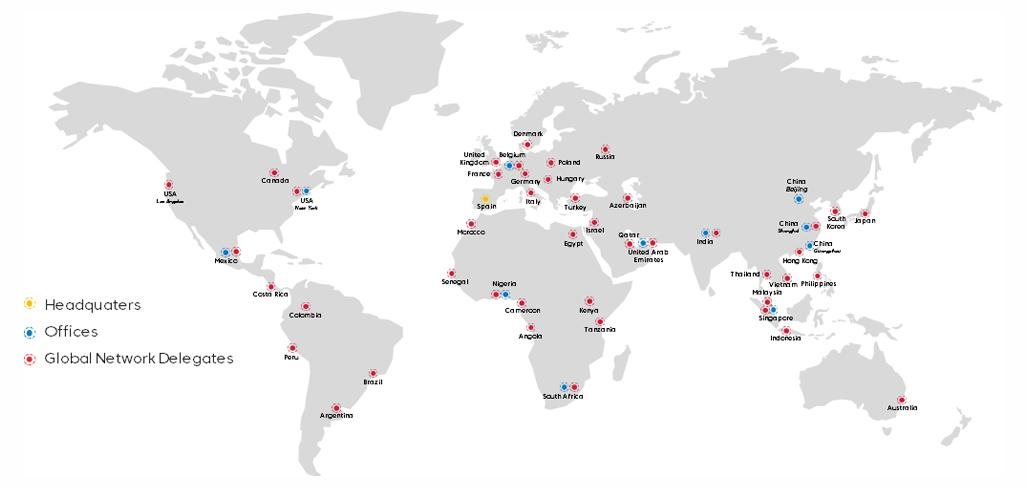 Mapa oficinas y sede 2019