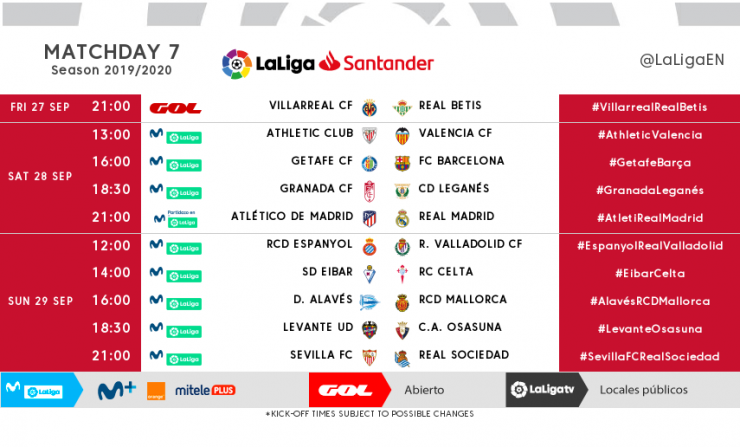 Calendario Betis 2020.Laliga Official Website Liga De Futbol Profesional