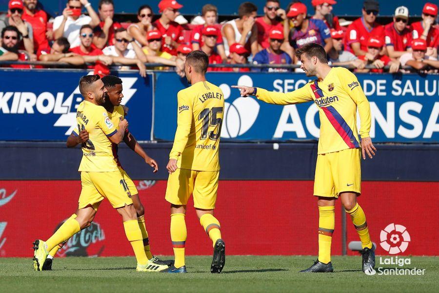 صور مباراة : أوساسونا - برشلونة 2-2 ( 31-08-2019 )  7c9287b64622364bcdc9e02f104f34a7