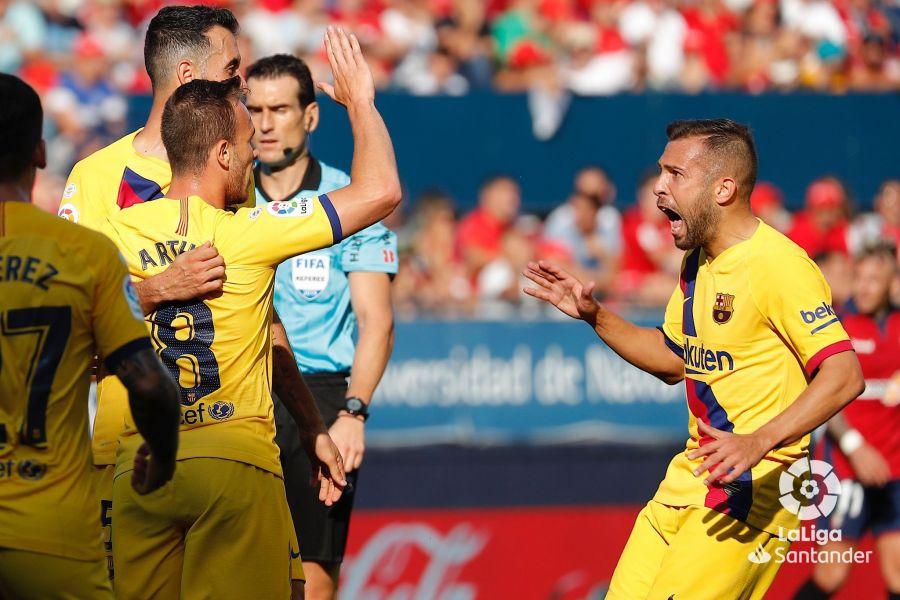 صور مباراة : أوساسونا - برشلونة 2-2 ( 31-08-2019 )  88d5dd2e4078b993f9c88f123c054903