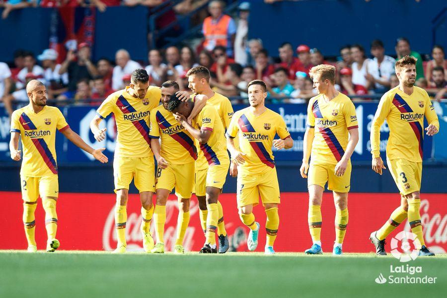 صور مباراة : أوساسونا - برشلونة 2-2 ( 31-08-2019 )  9a9336274dda83997242615ba1244488
