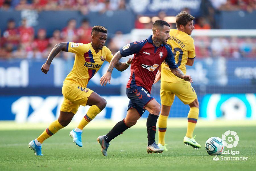 صور مباراة : أوساسونا - برشلونة 2-2 ( 31-08-2019 )  9b4d317466de84bcfc027aaeb2711461