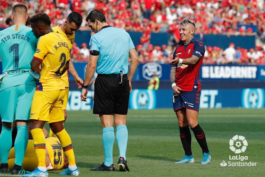 صور مباراة : أوساسونا - برشلونة 2-2 ( 31-08-2019 )  B039f33d3ea69e02beae9e5e89223a22