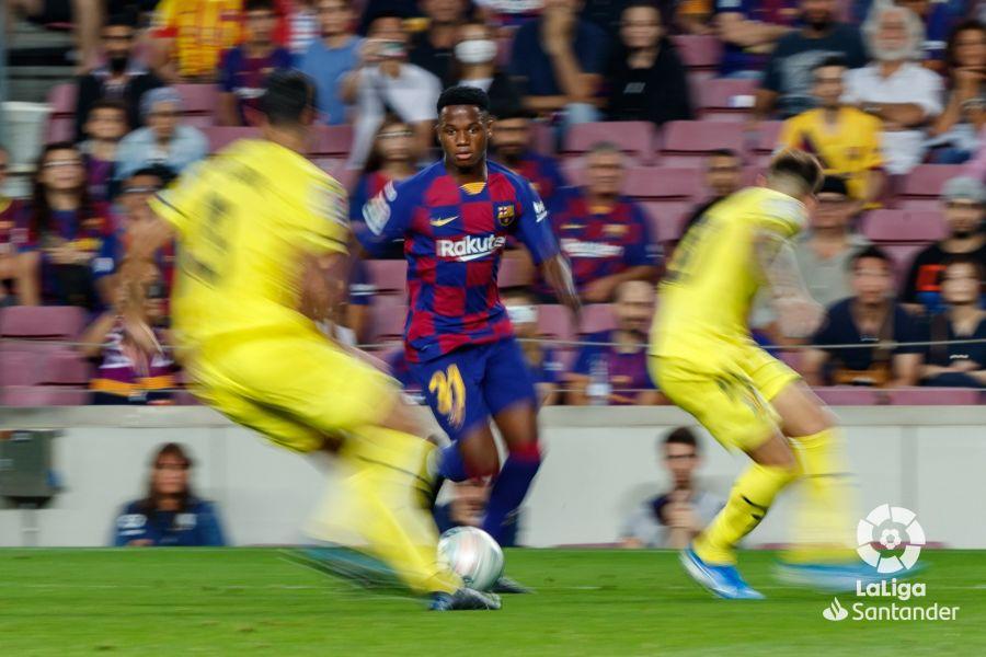 صور مباراة : برشلونة - فياريال 2-1 ( 24-09-2019 )  577a34a33cde35790506953e4a485163