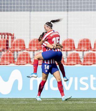 LigaFemenina-J4- At. Madrid Femenino / EDF Logroño