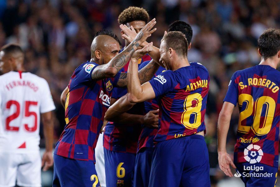 صور مباراة : برشلونة - إشبيلية 4-0 ( 06-10-2019 )  0e217e78c1862a8eaf0cfaf7da507dad