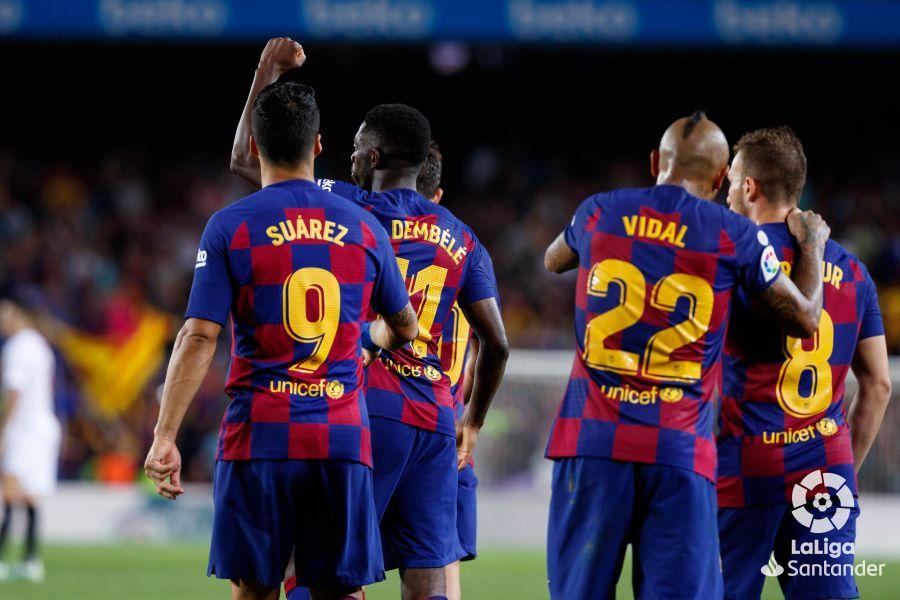 صور مباراة : برشلونة - إشبيلية 4-0 ( 06-10-2019 )  4bc8c8eda71fca4b9e21719dfa0a33d3