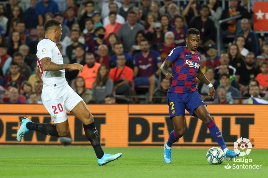 صور مباراة : برشلونة - إشبيلية 4-0 ( 06-10-2019 )  57b4d2e59afd0494e71d37a47d931741