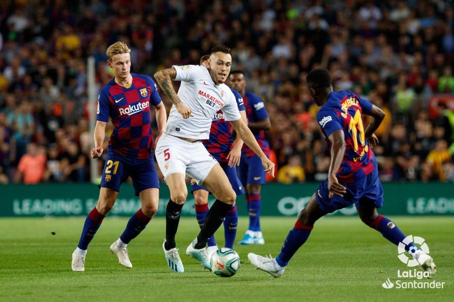 صور مباراة : برشلونة - إشبيلية 4-0 ( 06-10-2019 )  Da6ec1d7152145747028e15932c3ba16