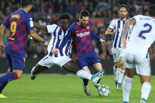 Santander-J11 – FC Barcelona / R. Valladolid CF