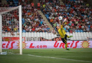 Manu Herrera consiguió el ascenso con el Elche en la temporada 2012-2013