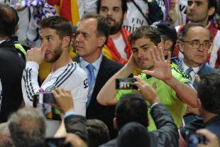 Ramos y Casillas, capitanes del Real Madrid, fueron protagonistas de la final