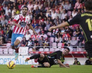2. Carlos Pita (CD Lugo). Alcanzó los 2.327 pases en 36 encuentros disputados. Su media es de 65