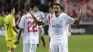 Carlos Bacca acumula 12 goles en la Liga BBVA con el Sevilla