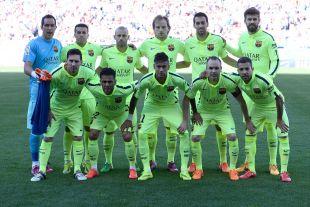 El XI inicial con el que el FC Barcelona se proclamó campeón