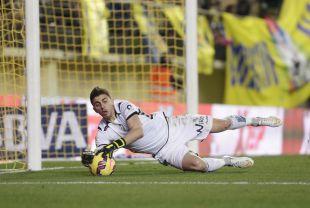 Irureta fue el meta que acabó con mejor coeficiente por partido  la pasada temporada en la Liga Adelante