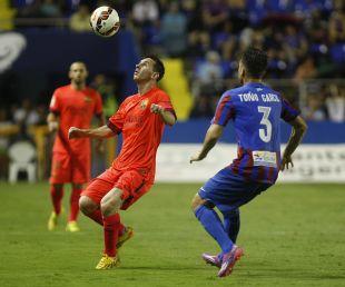 El primer gran resultado que cosechó el FC Barcelona fue ante el Levante, a quien derrotó por 0-5