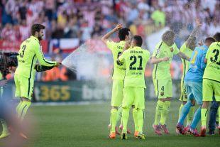El FC Barcelona se proclamó campeón de la temporada 2014-15