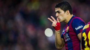 Luis Suárez ha mostrado su faceta de asistente en esta Liga BBVA