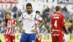 Willian José, con dos goles, fue decisivo en el encuentro de vuelta de primera ronda de play-off ante el Girona FC