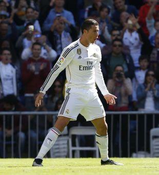 1. Cristiano Ronaldo (Real Madrid) logró 48 goles en 35 partidos y fue el máximo goleador de la Liga BBVA con 1,4 tantos de media