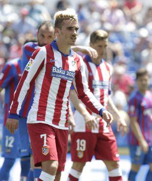 4. Griezmann (Atlético de Madrid). El jugador colchonero llegó hasta los 22 goles en 37 partidos, con una media de 0,6.