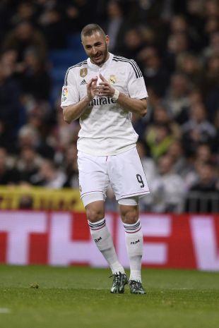 9. Benzema (Real Madrid). El galo logró anotar 15 tantos en 29 partidos y se quedó con 0,5 de media