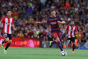 Rakitić fue uno de los jugadores más activos del Barcelona