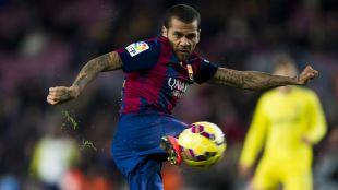 8. Dani Alves (FC Barcelona). En 30 partidos disputados la pasada campaña dio 1.942 pases, lo que da una media de 65.