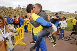 Paco Herrera, técnico del equipo amarillo, ha devuelto a Las Palmas a la Liga BBVA