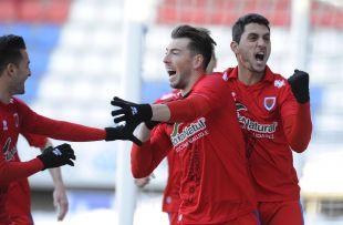 Sergi Enrich lleva 11 goles con el Numancia en la Liga Adelante