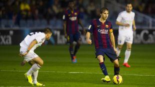 Samper es el mejor pasador del Barcelona B y el segundo de la Liga Adelante, con 1633 pases