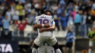 El Málaga suma nueve puntos y se aleja de la zona de descenso