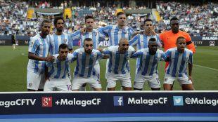 Este fue el primer once de la temporada del Málaga CF