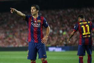 8. Luis Suárez (FC Barcelona). Sus 16 tantos en 27 encuentros le dejan en la octava plaza (0,5 de media).