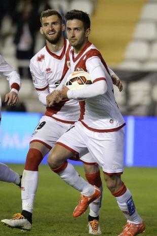 7. Bueno (Rayo Vallecano). El madrileño se quedó en 17 goles en 36 encuentros con una media de 0,5 tantos