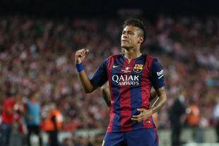 3. Neymar (FC Barcelona). El brasileño se quedó en 22 goles en 33 partidos. Su media es de 0,6 por choque.