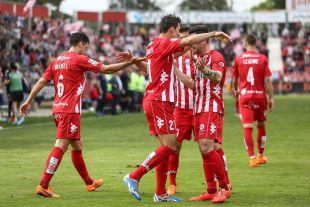 Con sus cuatro victorias consecutivas, el Girona se ha asentado en la segunda plaza