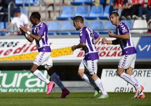 El conjunto vallisoletano suma 9 puntos en la Liga Adelante
