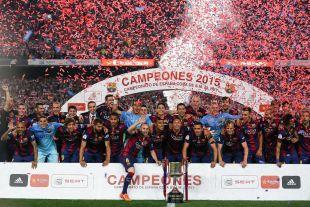 El Barcelona, campeón de la Copa del Rey 2014-15