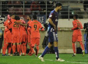 El equipo catalán visitó por primera en Liga el campo del Eibar