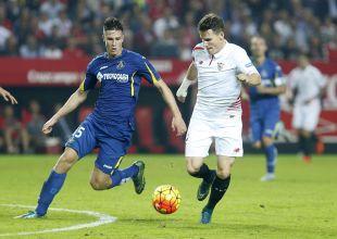La racha del Sevilla en casa continuó con una gran goleada por 5-0 sobre el Getafe CF con tres goles del francés Kevin Gameiro