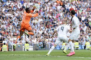 El guardameta camerunés firmó una actuación impecable en el Santiago Bernabéu