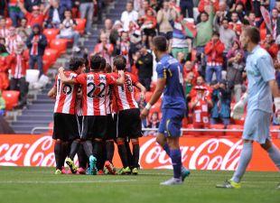 Athletic - Getafe. partido Athetic de Bilbao-Getafe, 13-09-2015