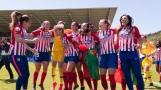 Real Sociedad - At. Madrid Femenino.